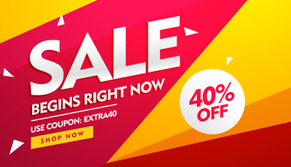 sale voucher, discount and offers banner design