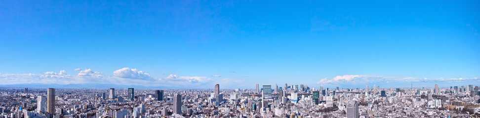 Spoed Fotobehang Tokio 東京の風景