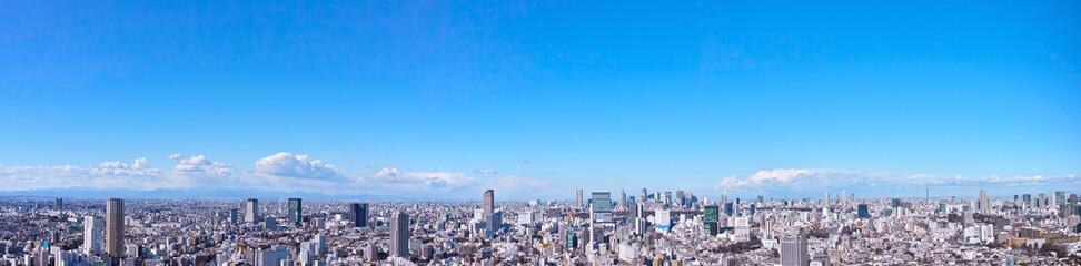 Spoed Foto op Canvas Tokio 東京の風景
