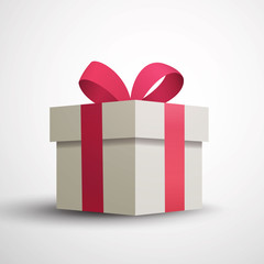 Vector Illustration of a Gift Box