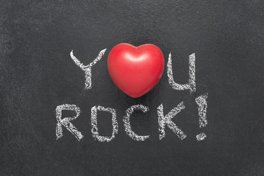 you rock heart