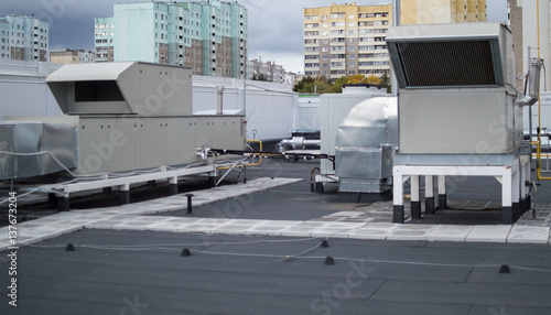 Central Ventilation System : Quot air handling units rooftops for the central ventilation