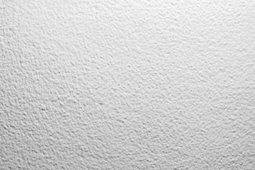 White color blank concrete wall texture background