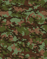 Fashionable camouflage pattern, military print .Seamless illustration