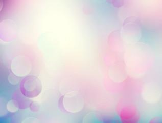 Soft pastel pink romantic blurred background.