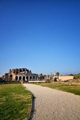 The Roman Amphitheater of Santa Maria Capua Vetere. Italy