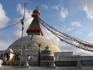 Stupa in Nepal nel 2013.