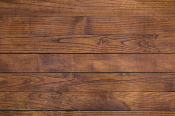 Close up brown wooden planks texture. Abstract wood background.