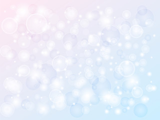 abstract colored background with highlights of various sizes