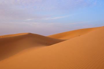 Désert et dunes de sable