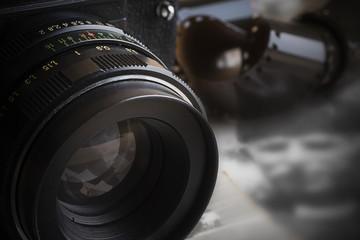 Olld analog camera