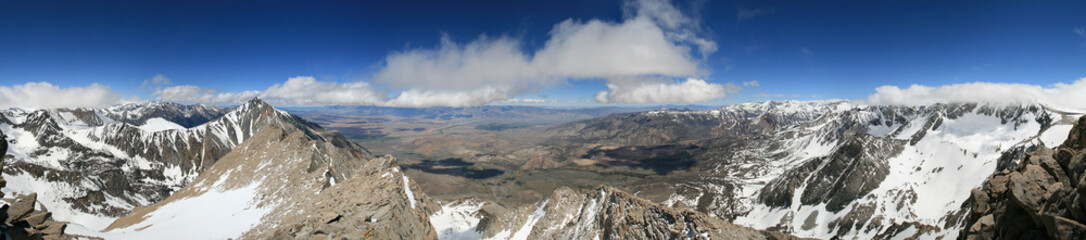 Basin Mountain panorama