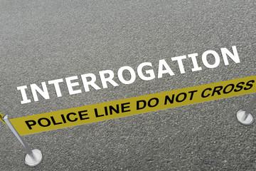 Interrogation - police concept