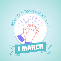 1 march Compliment Day