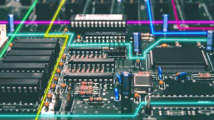 Neon Electronic City