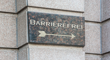 Schild 204 - Barrierefrei