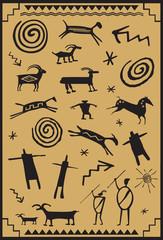American Indian Petroglyphs
