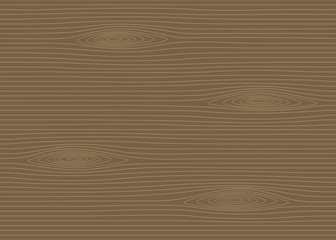Natural wood pattern background. Vector Illustration