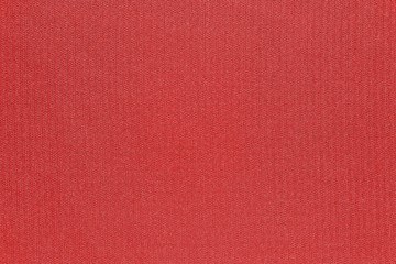 texture and background of fabric red color