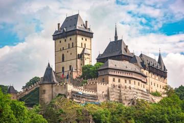 Fotobehang Kasteel Karlstein Castle