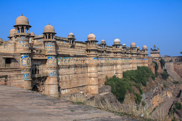 Gwalior Fort. India
