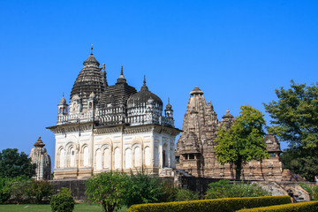 Temples in Khajuraho. India