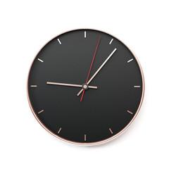 Wall clock mockup 3d rendering