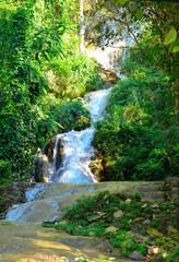 tan tong waterfall , phrae , thailand
