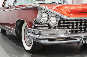 old and classic american car
