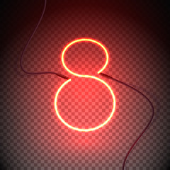 eight neon sign red2-01