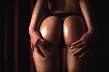 Beautiful ass of a young girl