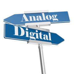 Analog or Digital signs