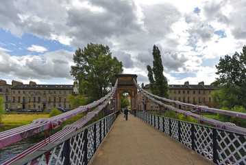 Glasgow - Carlton Place Suspension Bridge