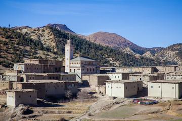 Rural Berber village in Morocco