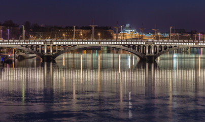 Bridge over the Rhone river 8