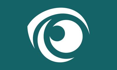 eye abstract watch logo