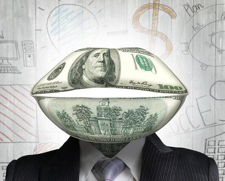Concept of money talks