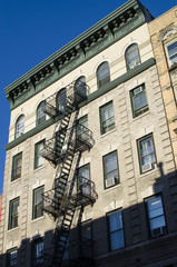 New York city. Building. Old style image