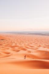Lost in desert.