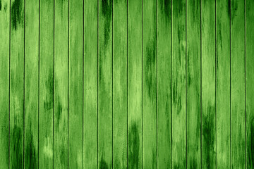 green wooden slats background