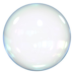 Soap Bubble Isolated