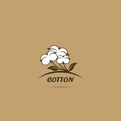 Cotton flower symbol
