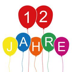 12 Jahre - Luftballons