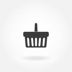 Shopping Cart Icon. Shopping Basket Icon. Vector.