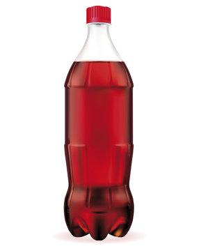 Large bottle of cola