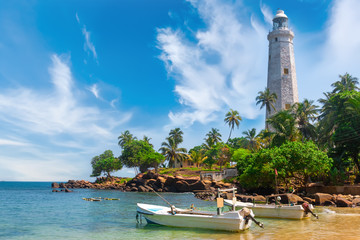 Sri Lanka, Lighthouse Dondra Head.