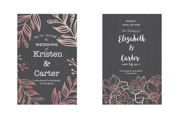 Stylized font with calligraphy white letters on dark wallpaper