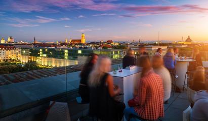 Dachterrasse der TU in München