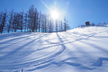 北海道のスキー場