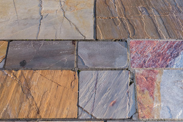 abstract background of stacked stones